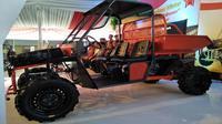 Setidaknya saat ini sudah ada empat prototipe mobil pedesaan. Salah satunya yaitu Wintor yang diproduksi PT Velasto Indonesia.(Liputan6.com/Septian Deny)