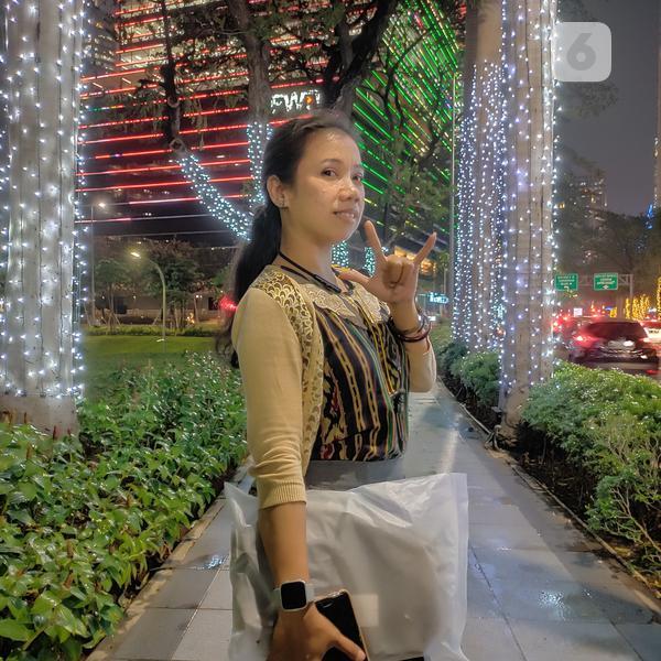 Hasil foto menggunakan Realme X2 Pro dengan mode Nightscape. (Liputan6.com/ Agustin Setyo W)