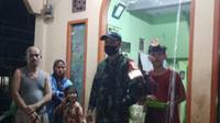 Banjir melanda Nagari Manggilang, Kabupaten Limapuluh Kota pada Kamis (29/4/2021) malam. (ist)