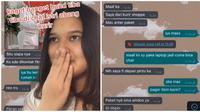 Cerita Remaja Ini di Chat Istri Kurir Pengantar Paket. (Sumber: TikTok/ @kielachelaaa)