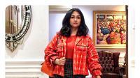 Bella Saphira mengatakan sempat kurang percaya diri mengenakan pakaian berwarna menyala (Dok.Instagram/@bellasaphiraofficial/https://www.instagram.com/p/BzXLVk0Hdjm/Komarudin)