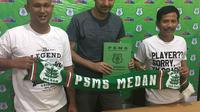 PSMS Medan rekrut Dilshod Sharofetdinov (Liputan6.com/Reza Efendi)