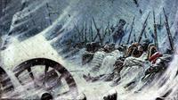 Kekalahan memalukan Napoleon Bonaparte di Rusia  (Wikipedia)