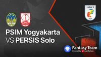 Liga 2 2021 : PSIM Yogyakarta vs Persis Solo