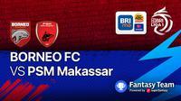 PSM Makassar vs Borneo FC