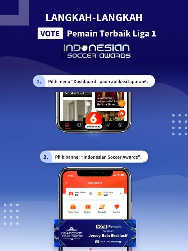 Tutorial Indonesian Soccer Awards 2019