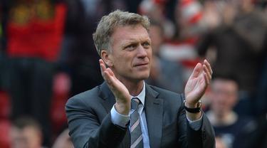 Manajer Manchester United, David Moyes