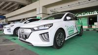 Mendukung rencana pemerintah, Grab secara resmi meluncurkan GrabCar Elektrik di Indonesia.