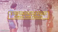 6 Pertandingan Panas Persib dan Persija (Bola.com/Adreanus Titus)