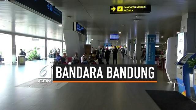 Akibat 13 rute penerbangan domestik resmi dipindah ke Bandara Kertajati. Akibatnya, Bandara Husein Sastranegara kini sepi dari penumpang.