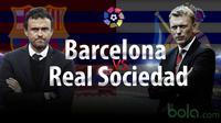 Barcelona vs Real Sociedad (bola.com/samsulhadi)