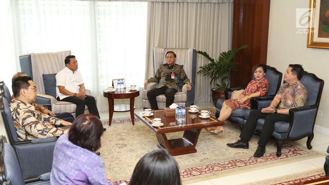 Emtek Silaturahmi dengan Kepala Staf Kepresidenan Moeldoko ...