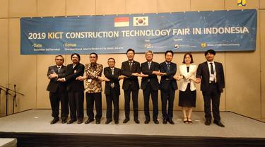 KICT Construction and Technology Fair 2019. Dok Kementerian PUPR