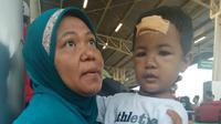 Hafis dan ibunya jadi korban gempa Palu.