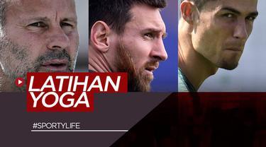 Berita video Sportylife kali ini tentang para pesepak bola dunia yang penampilannya didukung juga karena berlatih yoga. Siapa sajakah mereka?