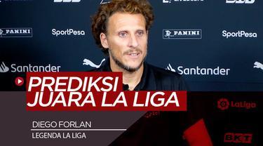 Berita Video Diego Forlan Ungkap Alasan Atletico Madrid Berpeluang Juara La Liga