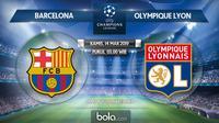 Liga Champions: Barcelona vs Olympique Lyon (Bola.com/Dody Iryawan)