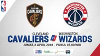 Cleveland Cavaliers Vs Washington Wizards (Bola.com/Adreanus TItus)