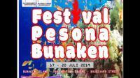 Festival Pesona Bunaken namanya, yaitu festival yang mengangkat beragam keunikan Bunaken. Tahun ini festival tersebut siap menyapa wisatawan pada 17-20 Juli 2019.