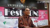 Dekan Fakultas Ilmu Sosial Ilmu Politik Universitas Nasional (UNAS) Jakarta Dr. Zulkarnain, M.Si.