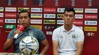 Konferensi pers menjelang laga leg kedua semifinal Zona ASEAN Piala AFC 2019 antara PSM Makassar versus Becamex Binh Duong. (Bola.com/Zulfirdaus Harahap)