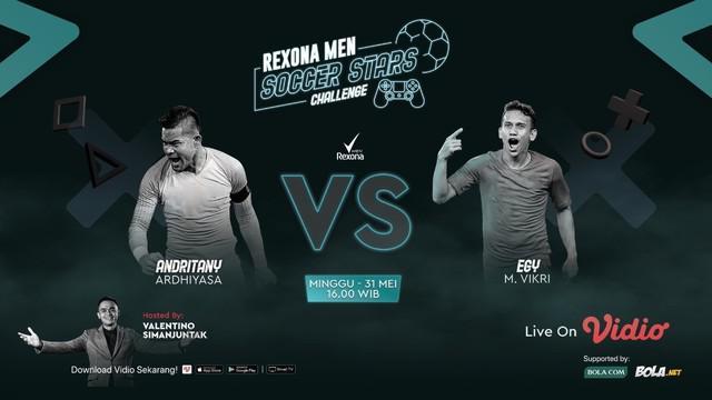 Berita Video Hadapi Andritany, Egy Maulana Berpeluang Besar Juara di Rexona Men Soccer Stars Challenge