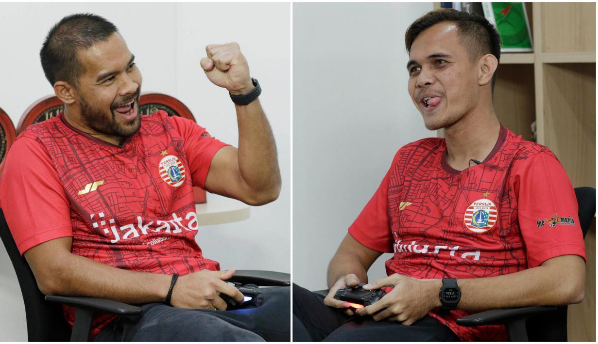 Penggawa Persija Jakarta, Andritany Ardhiyasa dan Rezaldi Hehanussa, ikut memeriahkan acara BOLA Esports Challenge. Berikut beragam aksi dan ekspresi mereka saat bermain FIFA 20.
