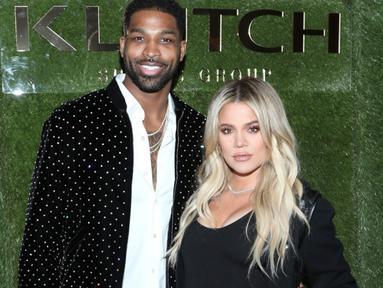 Sejak Khloe Kardashian melahirkan True. Banyak fans yang tak sabar melihatnya menikah dengan Tristan Thompson. (Getty Images - Entertainment Tonight)