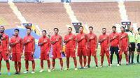 Timnas Indonesia U-22 menang atas Kamboja 2-0 di Shah Alam Stadium, Rabu (24/8/2017). (twitter.com/pssi__fai)