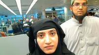FBI: Sosmed Pelaku Penembakan California Tak Sebut Terorisme. Tashfeen Malik, Syed Farook (Reuters)