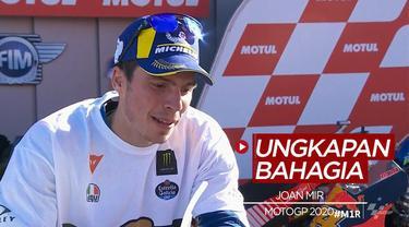 Berita video ungkapan Joan Mir setelah memenangkan juara MotoGP 2020