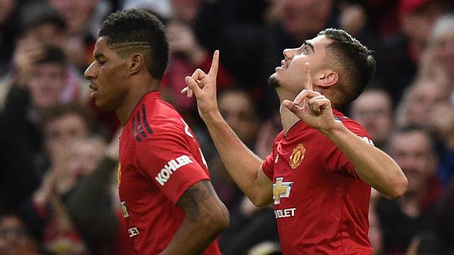 FOTO: Romelu Lukaku 2 Gol, Manchester United Tekuk Southampton