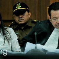 Jessica Kumala Wongso, tersangka kasus kopi sianida yang jadi 'guru' di Rutan Pondok Bambu. (Foto: bintang.com/Galih W. Satria)