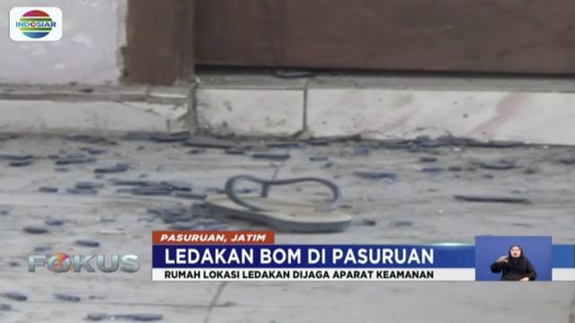 Polda Jawa Timur mengatakan bom yang meledak di Bangil, Pasuruan, merupakan human erro dari pelaku. Bom yang digunakan pelaku berjenis bom ikan atau bondet dengan daya low explosive.