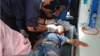 HUT ke-15 Kabupaten Bener Meriah Aceh diwarnai insiden. Puting beliun memorakporandakan acara HUT tersebut. (Liputan6.com/Rino Abonita)