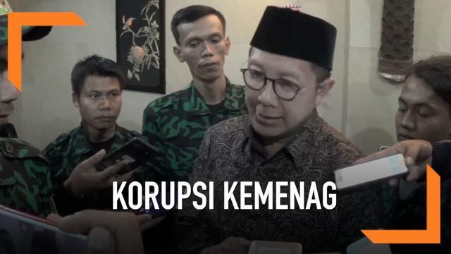 Menteri Agama yang juga kader PPP Lukman Hakim Saifudin tidak mau berkomentar soal penangkapan ketua umum PPP Muhammad Romahurmuziy dalam OTT KPK. Menag juga enggan berkomentar soal penemuan uang tunai oleh KPK di ruang kerjanya.