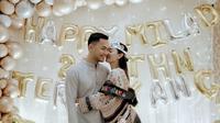 Potret Mesra Zaskia Gotik dan Sirajuddin Mahmud Usai Menikah. (Sumber: Instagram.com/zaskia_gotix)