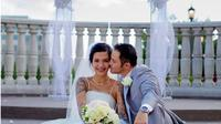 Pernikahan Tiga Setia Gara (Sumber: Instagram/tigawat)