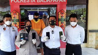 Hobi Curi Handphone dalam Jok Motor, Residivis di Balikpapan Kembali ke Penjara