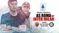 AS ROMA VS INTER MILAN (Liputan6.com/Abdillah)