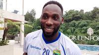 Geoffrey Castillion, striker Persib. (Bola.com/Erwin Snaz)