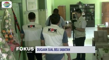 KPK geledah ruang kepala Kanwil Kemenag Jawa Timur dan Kemenag Kabupaten Gresik terkait kasus OTT Romahurmuziy.
