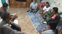 Polri dan TNI melakukan pencarian balita anak anggota Kodam Jaya yang dikabarkan hilang. (Istimewa)