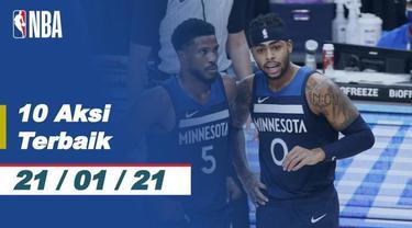 Berita Video 10 Aksi Terbaik NBA 21 Januari 2021, Blok Keren dari John Collins
