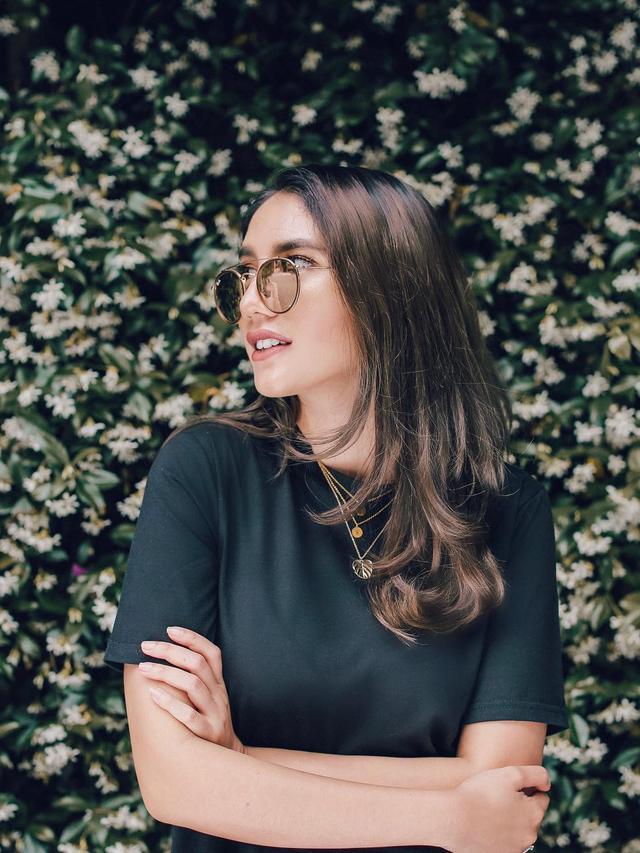6 Selebgram Dengan Potongan Rambut Panjang Untuk Referensi Gaya Di 2019 Lifestyle Liputan6 Com