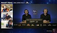 Sanshoqueen pada sesi tanya jawab usai race 2 seri perdana MotoGP eSport Championship 2020. (Youtube MotoGP eSport)
