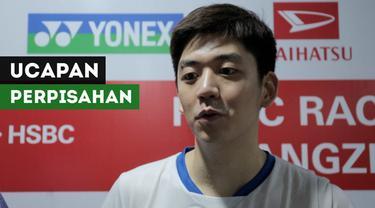 Berita video ucapan perpisahan dari pebulu tangkis Korea Selatan, Lee Yong-dae, untuk Liliyana Natsir yang menjadikan Indonesia Masters 2019, turnamen terakhirnya di badminton.