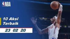 Berita Video 10 Aksi Terbaik NBA 23 Februari 2020