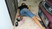 Korban dikenal sebagai kurir dari mantan polisi yang pernah terlibat kasus narkoba di Polresta Pekanbaru itu. (Liputan6.com/M Syukur)