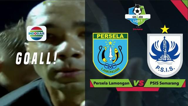 Berita video momen gol dengan free kick indah yang dicetak Bruno Silva saat laga Persela Lamongan kontra PSIS Semarang dalam lanjutan Gojek Liga 1 2018 bersama Bukalapak, Jumat (5/10/2018).